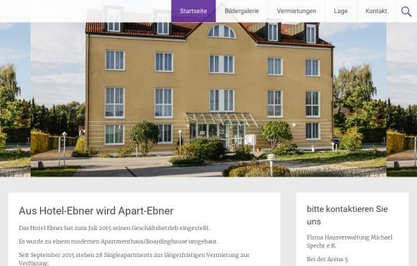 Vorschau von www.ebner-hotel.de, Hotel Ebner