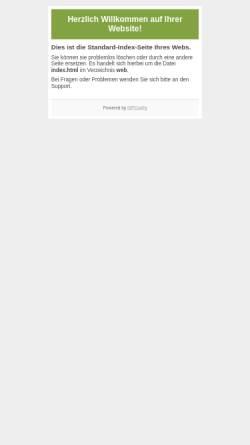 Vorschau der mobilen Webseite www.event-in.de, Hit That Events und Promotion