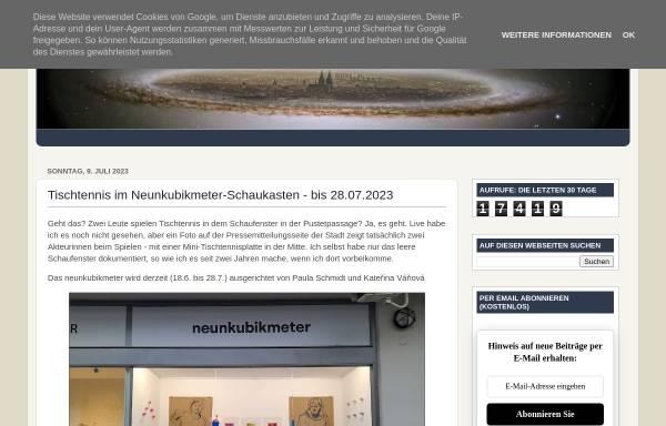 Vorschau von www.regensburger-tagebuch.de, Regensburger Tagebuch
