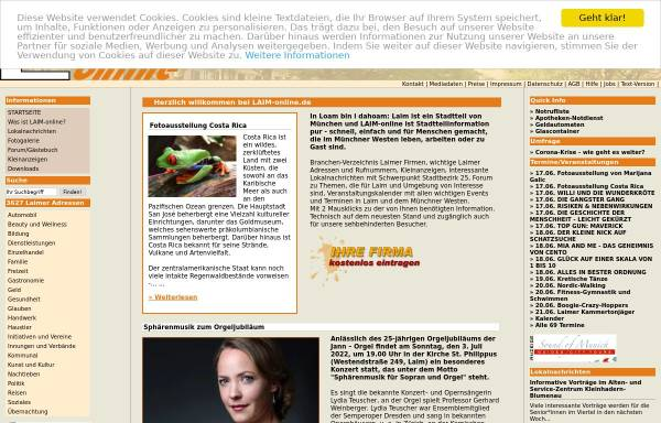 Vorschau von www.laim-online.de, LAIM online