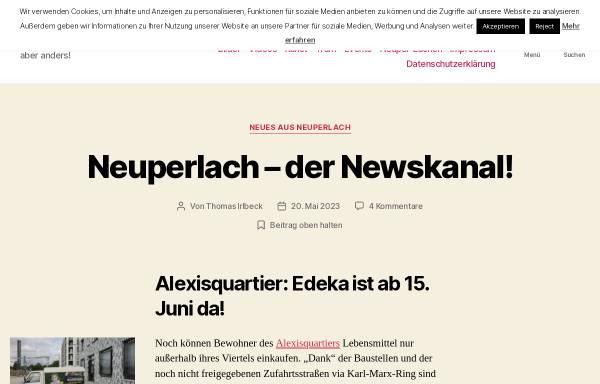 Vorschau von www.neuperlach.org, Neuperlach.org