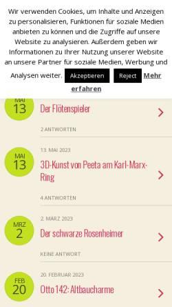 Vorschau der mobilen Webseite www.neuperlach.org, Neuperlach.org