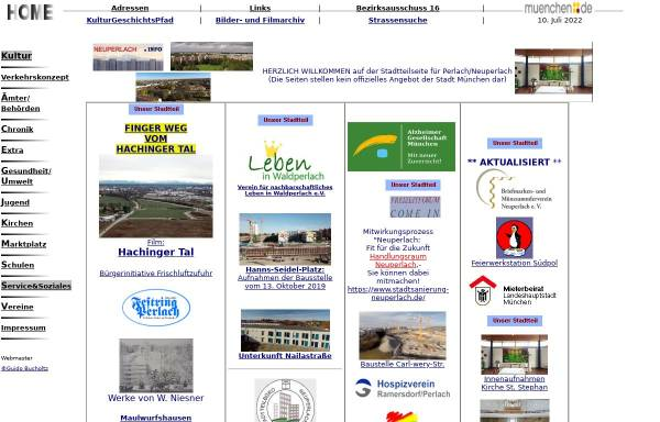Vorschau von www.neuperlach.info, Perlach/Neuperlach