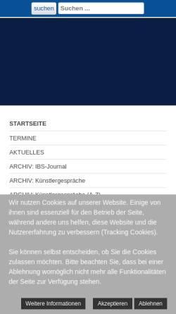 Vorschau der mobilen Webseite www.opernfreundemuenchen.de, Opernfreunde München