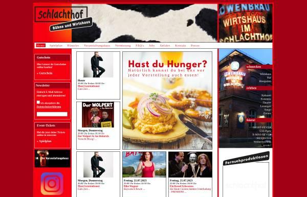 Vorschau von www.im-schlachthof.de, Wirtshaus im Schlachthof