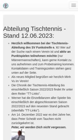 9f6e767abd3756 ... Vorschau der mobilen Webseite www.svfunkstreife.de