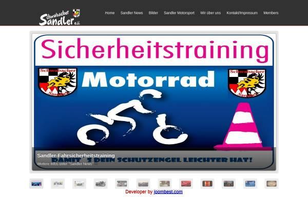 Vorschau von www.schwabacher-sandler.de, Motorradclub