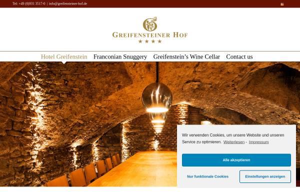 Vorschau von www.greifensteiner-hof.de, Hotel Greifenstein