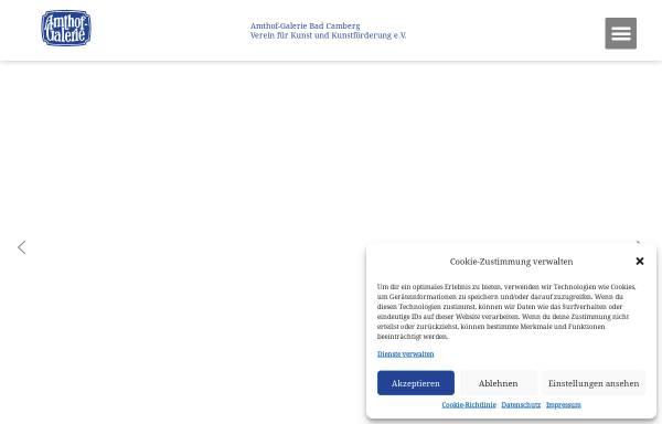 Vorschau von www.amthof-galerie.de, Amthof-Galerie Bad Camberg, Verein für Kunst und Kunstförderung e.V.