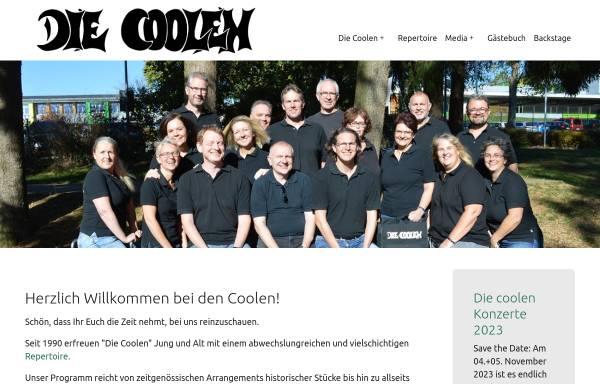 Vorschau von www.diecoolen.de, Die Coolen