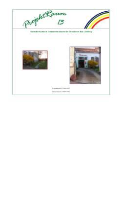 Vorschau der mobilen Webseite projektraum13.de, ProjektRaum13