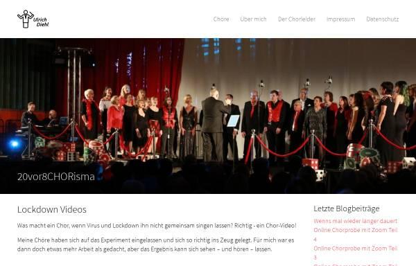 Vorschau von www.chorleitung.de, Ulrich Diehl - Chorleiter