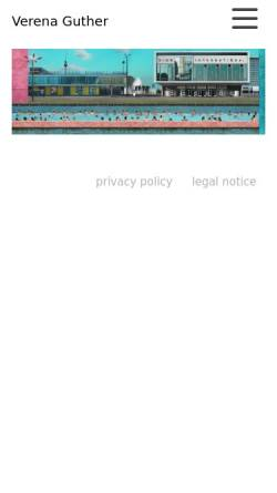 Vorschau der mobilen Webseite www.guther-art.de, Verena Guther