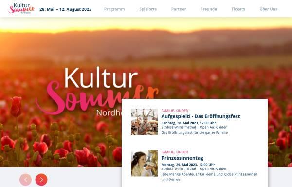 Vorschau von www.kultursommer-nordhessen.de, Kultursommer Nordhessen