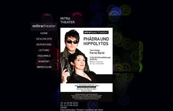 Vorschau von www.mitra-theater.de, Frankfurt, Mitra Theater