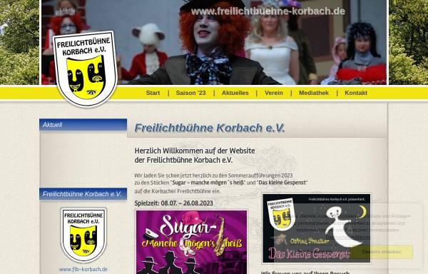 Vorschau von www.flb-korbach.de, Korbach, Freilichbühne