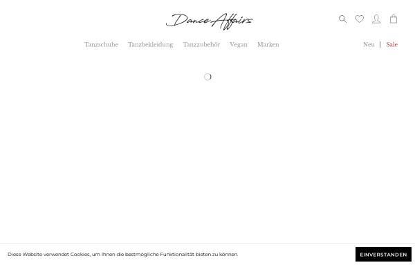 Vorschau von danceaffairs.de, Dance Affairs