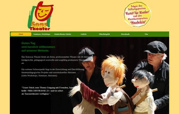Vorschau von www.sonswastheater.de, Sonswas Theater, Freies, professionelles Theater Melle
