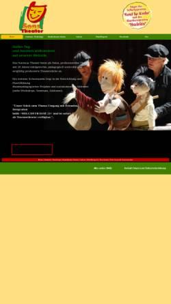 Vorschau der mobilen Webseite www.sonswastheater.de, Sonswas Theater, Freies, professionelles Theater Melle