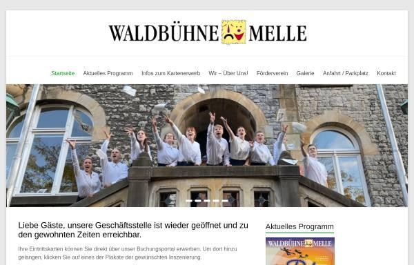 Vorschau von www.waldbuehne-melle.de, Waldbühne Melle e.V.