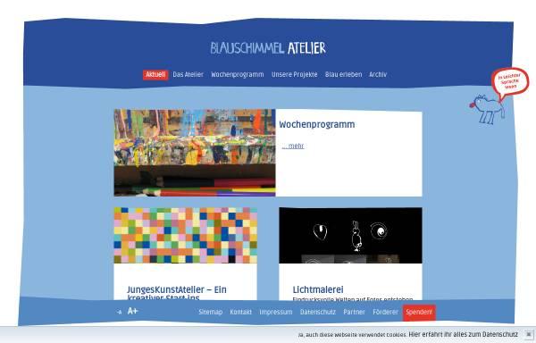 Vorschau von www.blauschimmel-atelier.de, Blauschimmel Atelier