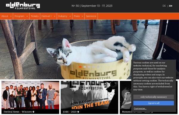 Vorschau von www.filmfest-oldenburg.de, Filmfest Oldenburg