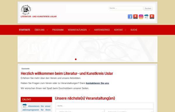 Vorschau von www.literatur-kunstkreis-uslar.de, Literatur- und Kunstkreis Uslar e.V.