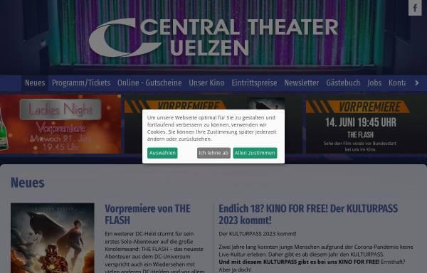 Vorschau von www.central-theater-uelzen.de, Central-Theater Uelzen