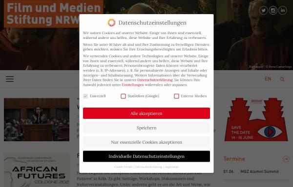 Vorschau von www.filmstiftung.de, Filmstiftung Nordrhein-Westfalen GmbH