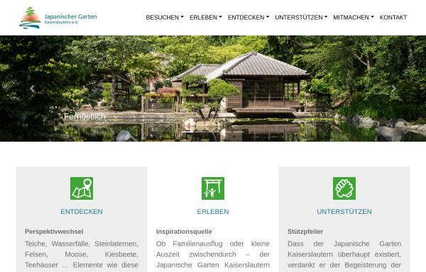 Japanischer Garten Kaiserslautern Ev Haus Und Garten Zuhause