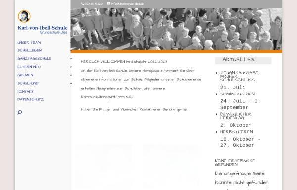 Vorschau von www.ibellschule-diez.de, Karl von Ibell Grundschule