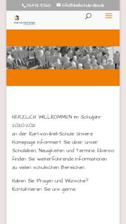 Vorschau der mobilen Webseite www.ibellschule-diez.de, Karl von Ibell Grundschule