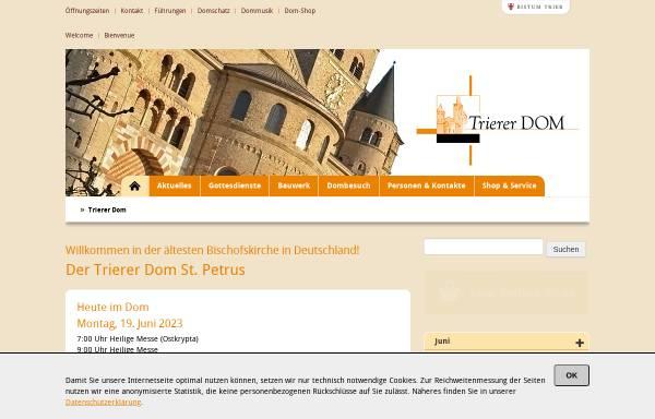 Vorschau von www.dominformation.de, Trierer Dom-Information