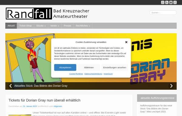 Vorschau von www.randfall-productions.de, Theaterverein Randfall Productions e.V.