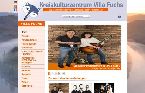 Vorschau von www.villa-fuchs.de, Villa Fuchs