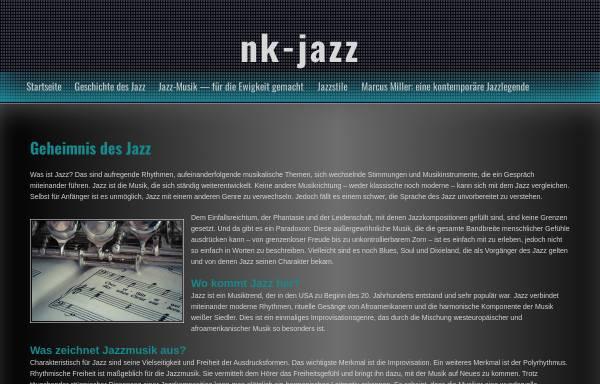 Vorschau von www.nk-jazz.de, JFN Jazz Förderverein Neunkirchen