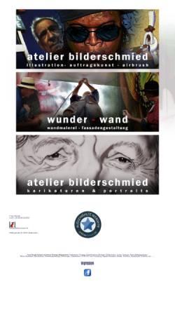 Vorschau der mobilen Webseite www.bilderschmied.de, Atelier Bilderschmied Franz Schmidt