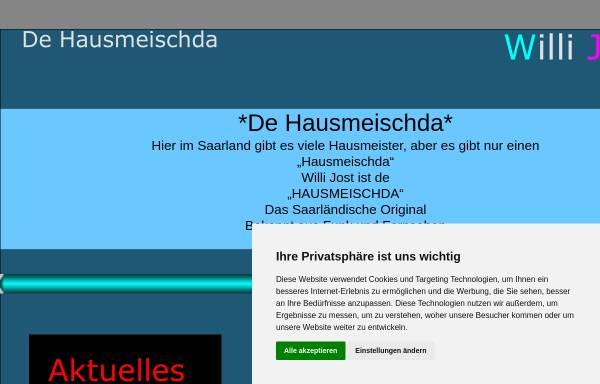 Vorschau von www.dehausmeischda.de, Jost, Willi