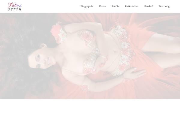 Vorschau von fatimaserin.de, Serin, Fatima: Orientalischer Tanz