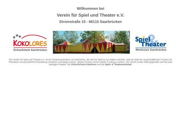 Vorschau von www.vereinfuerspielundtheater.de, VfST Verein für Spiel und Theater e.V.