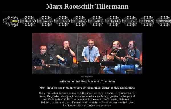 Vorschau von www.marxrootschilttillermann.de, Marx Rootschilt Tillermann