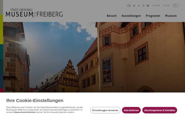Vorschau von museum-freiberg.de, Stadt- und Bergbaumuseum Freiberg