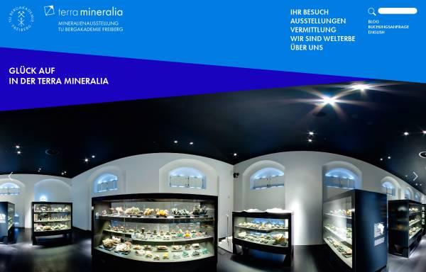 Vorschau von www.terra-mineralia.de, Terra mineralia