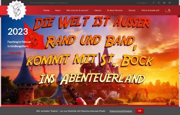 Vorschau von www.st-bock.de, Karnevalverein