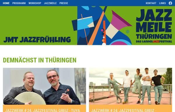 Vorschau von www.jazzmeile.org, Jazzmeile Thüringen