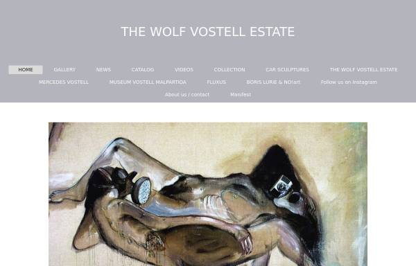 Vorschau von www.vostell.de, Galerie Vostell
