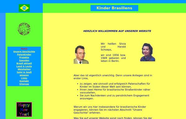 Vorschau von www.kinder-brasiliens.de, Kinder-Brasiliens.de