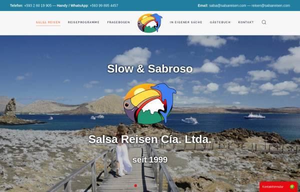 Vorschau von www.salsareisen.com, Salsa Reisen, Quito