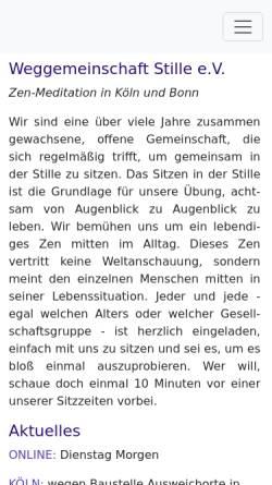 Vorschau der mobilen Webseite www.littleway.de, Aktion Little Way, Brücke der Menschlichkeit e.V.