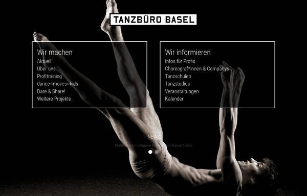 Vorschau von www.tanzbuero-basel.ch, Tanzbüro Basel